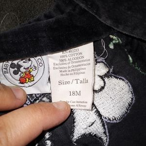 Disney Other - Vintage Minnie mouse overalls 18M